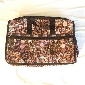 LeSportsac Large Weekender Handbag Floral